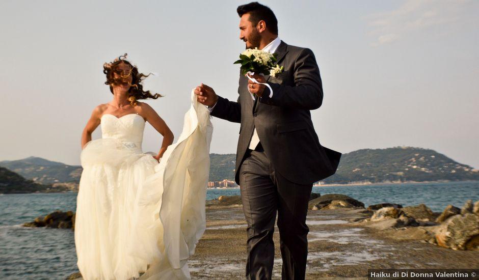 Il matrimonio di Alessandro e Simona a San Bartolomeo al Mare, Imperia