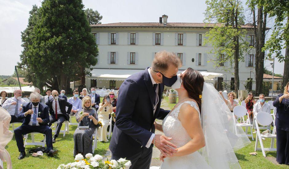 Il matrimonio di Alessio e Julia a Carnago, Varese