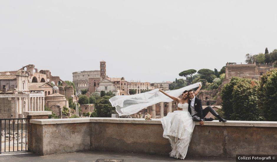 Il matrimonio di Silvia e Davide a Roma, Roma