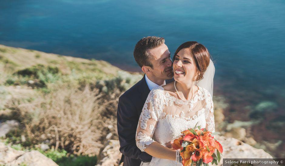 Il matrimonio di Gianicola e Jessica a Uta, Cagliari