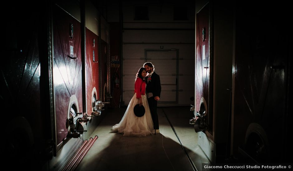 Il matrimonio di Roberto e Claudia a Castelfiorentino, Firenze