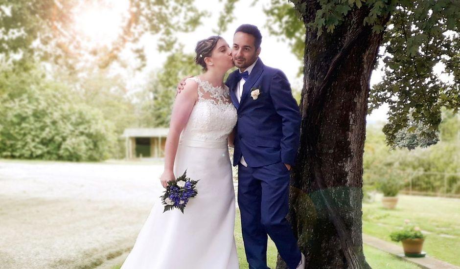 Il matrimonio di Michele  e Elena a Chiusi, Siena