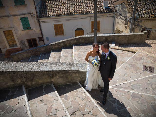 le nozze di Emanuela e Massimiliano