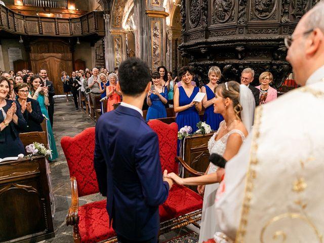 Il matrimonio di Claudio e Ilaria a Cerrione, Biella 56