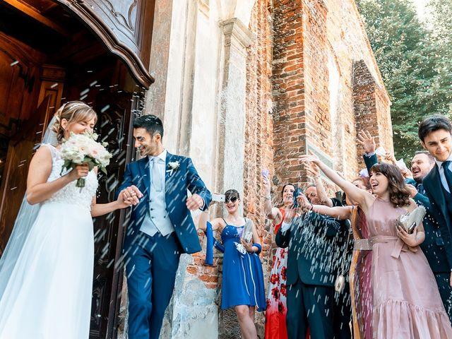 Il matrimonio di Claudio e Ilaria a Cerrione, Biella 62