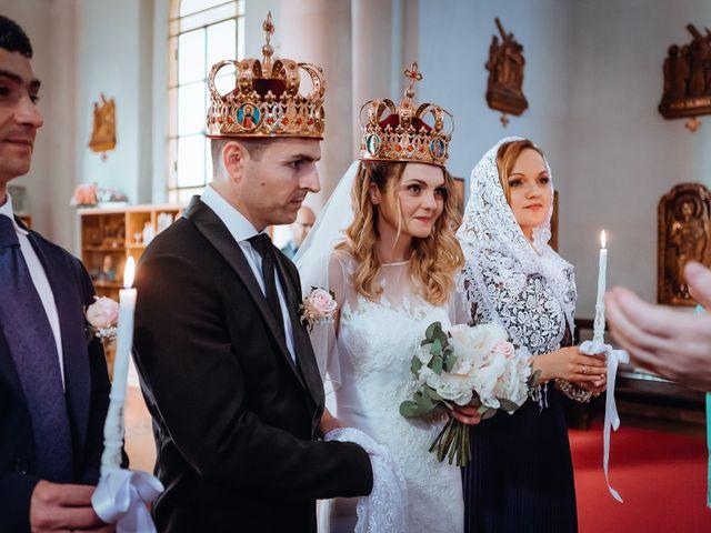 Le nozze di Svetlana e Nunzio
