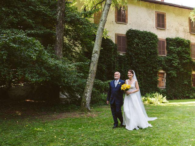 Il matrimonio di Pablo e Virginia a Comignago, Novara 18