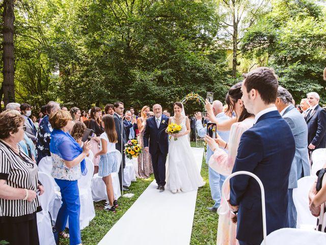 Il matrimonio di Pablo e Virginia a Comignago, Novara 21