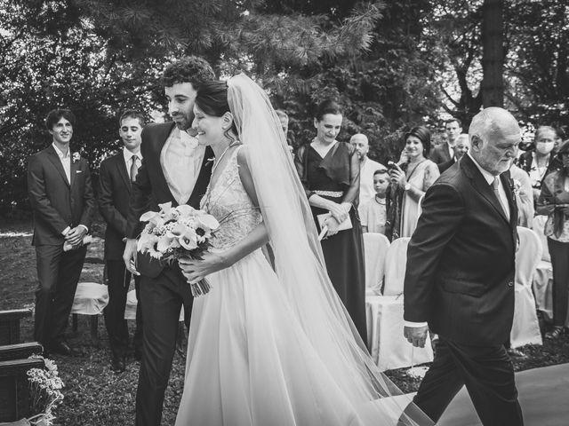 Il matrimonio di Pablo e Virginia a Comignago, Novara 22