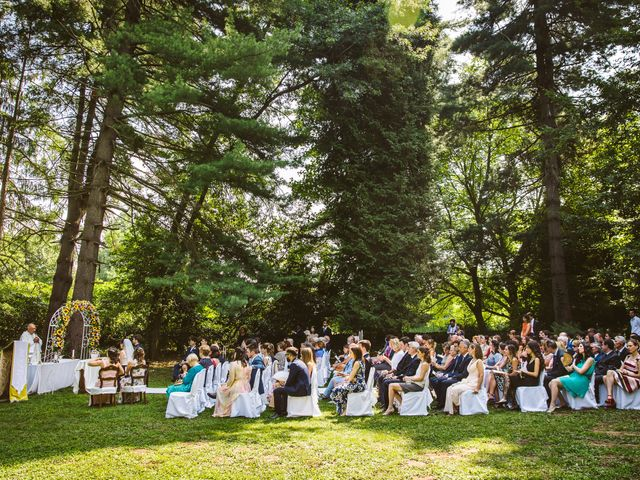 Il matrimonio di Pablo e Virginia a Comignago, Novara 28
