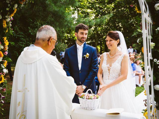 Il matrimonio di Pablo e Virginia a Comignago, Novara 30