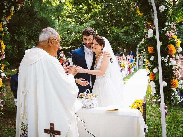 Il matrimonio di Pablo e Virginia a Comignago, Novara 31