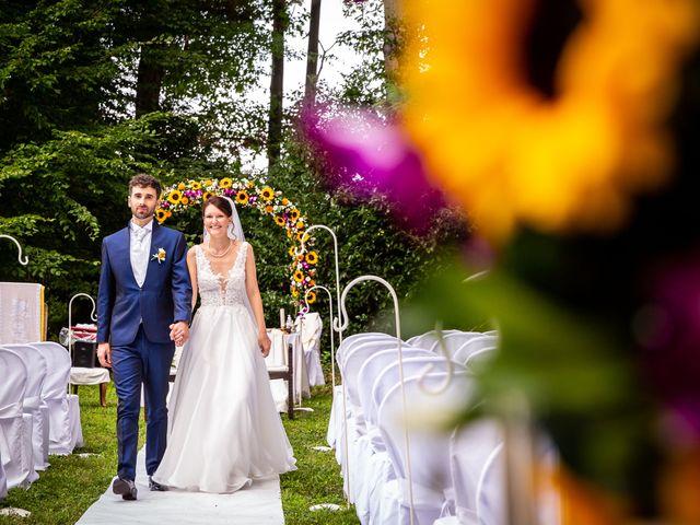 Il matrimonio di Pablo e Virginia a Comignago, Novara 36