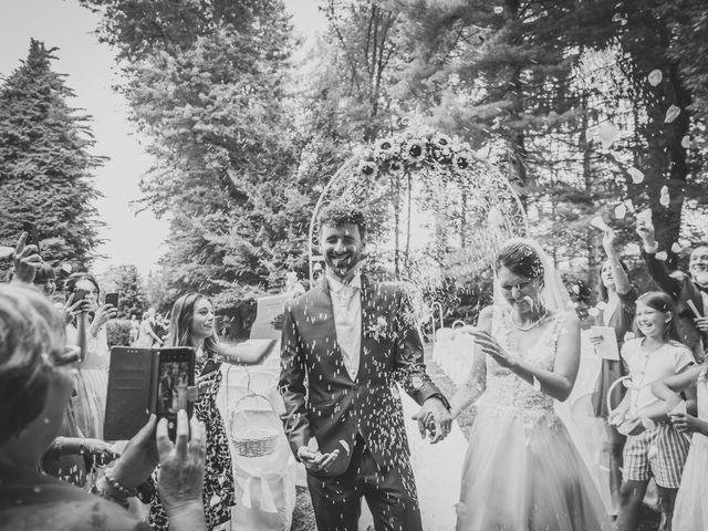 Il matrimonio di Pablo e Virginia a Comignago, Novara 37