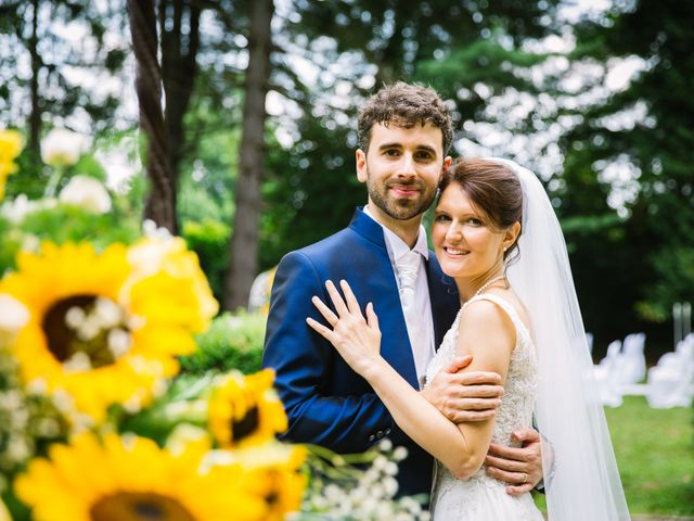 Il matrimonio di Pablo e Virginia a Comignago, Novara 40