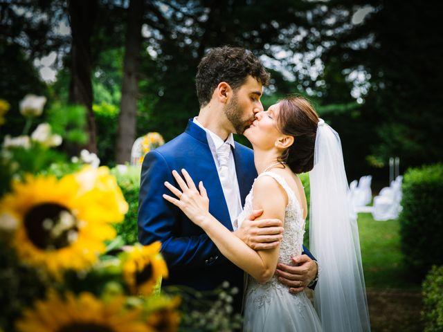 Il matrimonio di Pablo e Virginia a Comignago, Novara 41