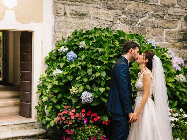 Il matrimonio di Pablo e Virginia a Comignago, Novara 44