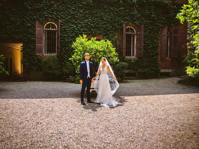 Il matrimonio di Pablo e Virginia a Comignago, Novara 50