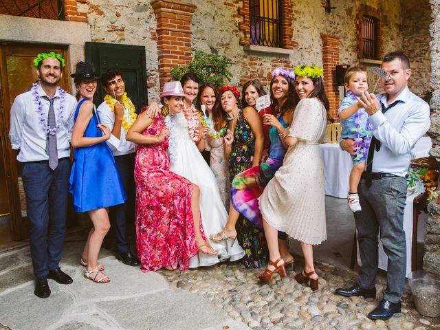 Il matrimonio di Pablo e Virginia a Comignago, Novara 76