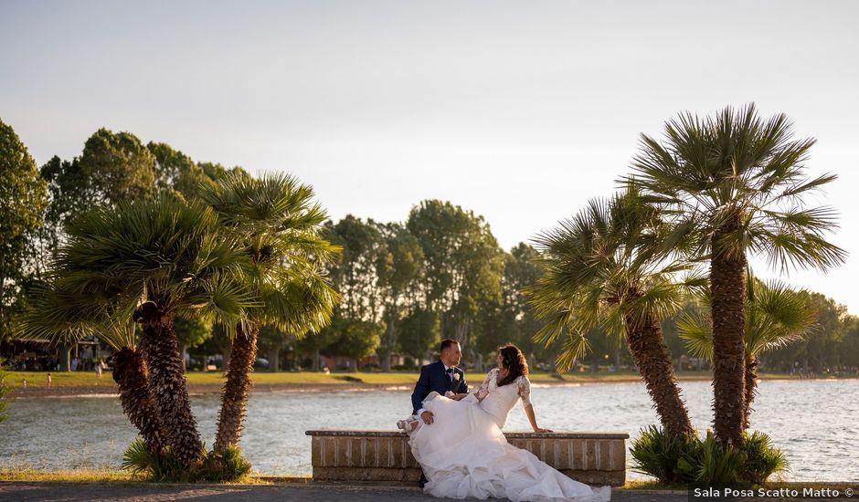 Il matrimonio di Valentino e Maria Grazia a Fabrica di Roma, Viterbo