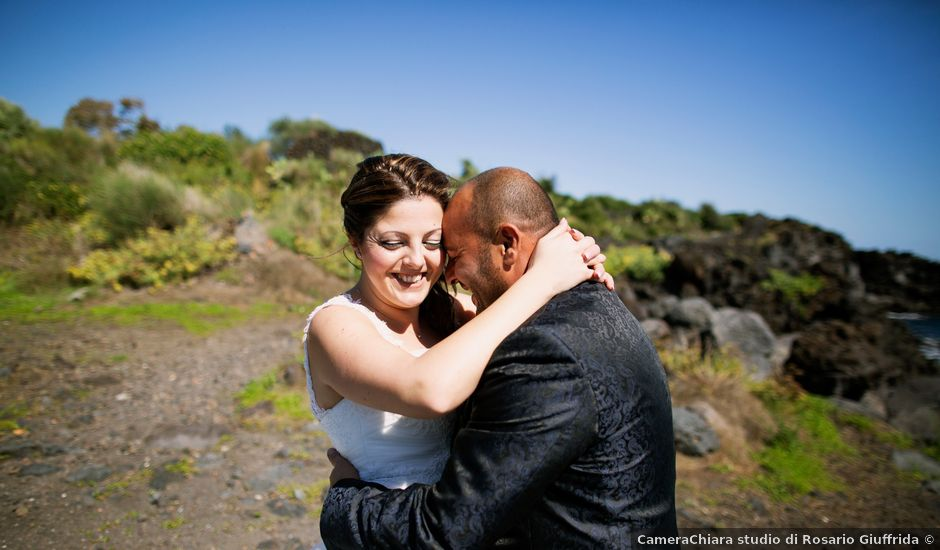 Il matrimonio di Giuseppe e Anna a Acireale, Catania