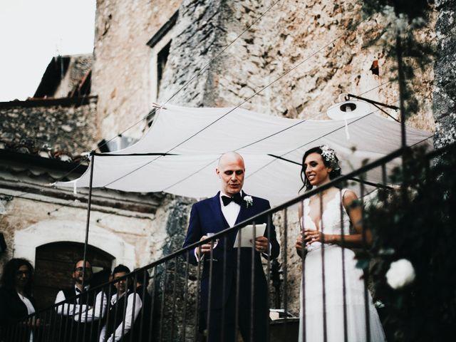 Il matrimonio di David e Alessia a Santo Stefano di Sessanio, L'Aquila 29