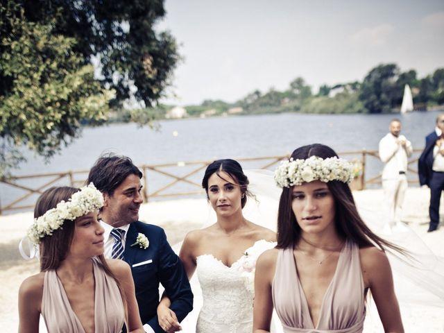 Il matrimonio di Christian e Lucrezia a Sabaudia, Latina 26