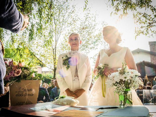 Il matrimonio di Federica e Valentina a Castagnole Piemonte, Torino 11