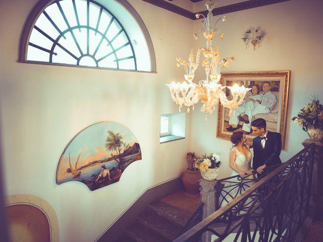 Le nozze di Nicola e Giorgia