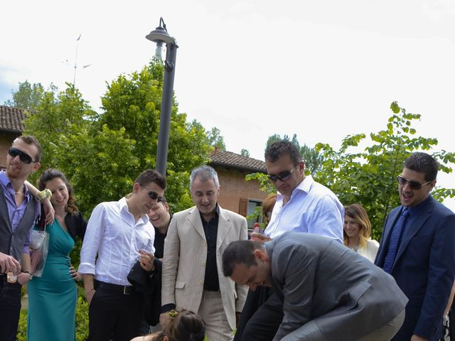 Il matrimonio di Luca e Francesca a Castel San Pietro Terme, Bologna 41