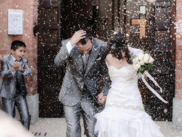 Il matrimonio di Luca e Francesca a Castel San Pietro Terme, Bologna 63