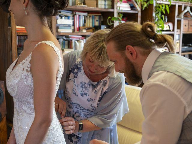 Il matrimonio di Robert e Giulia a Serra de' Conti, Ancona 28