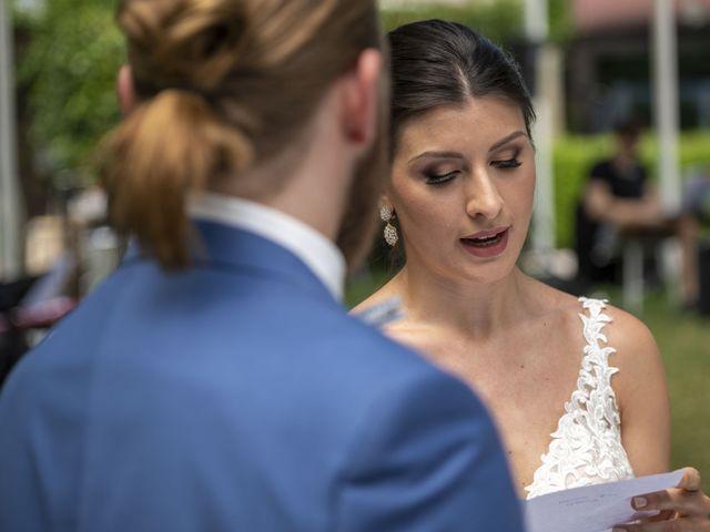 Il matrimonio di Robert e Giulia a Serra de' Conti, Ancona 43