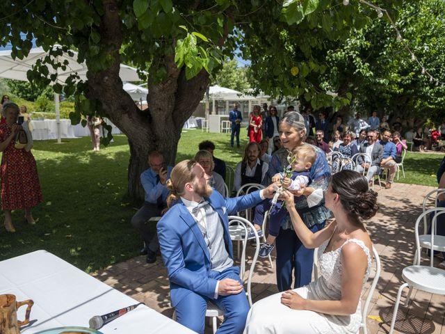 Il matrimonio di Robert e Giulia a Serra de' Conti, Ancona 45