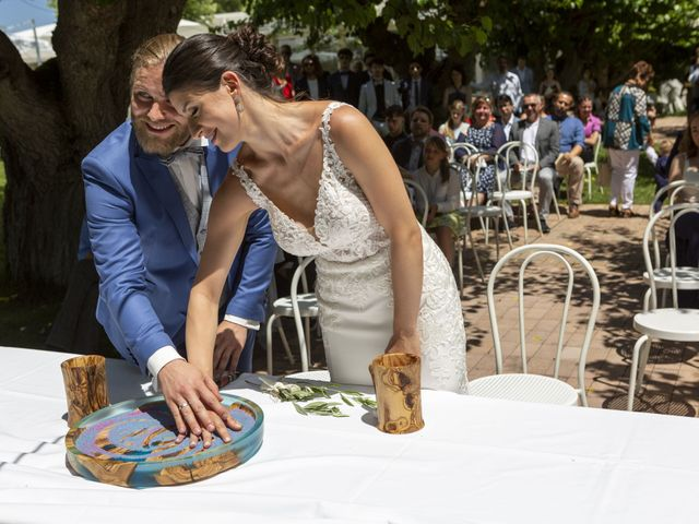 Il matrimonio di Robert e Giulia a Serra de' Conti, Ancona 46