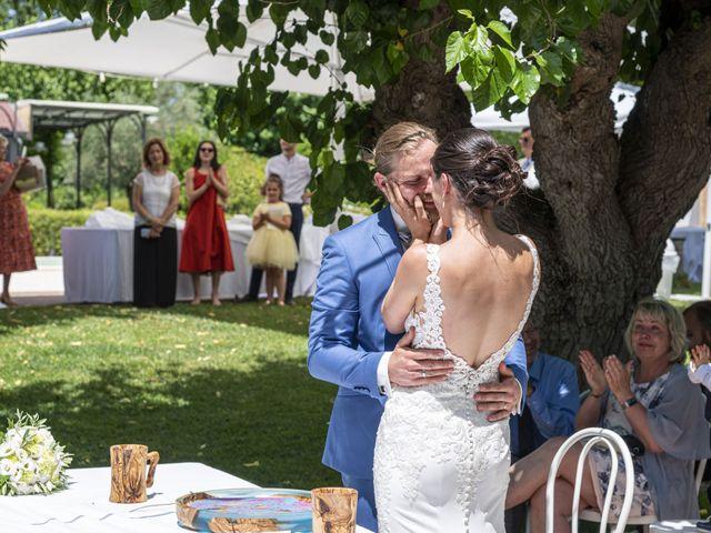 Il matrimonio di Robert e Giulia a Serra de' Conti, Ancona 55