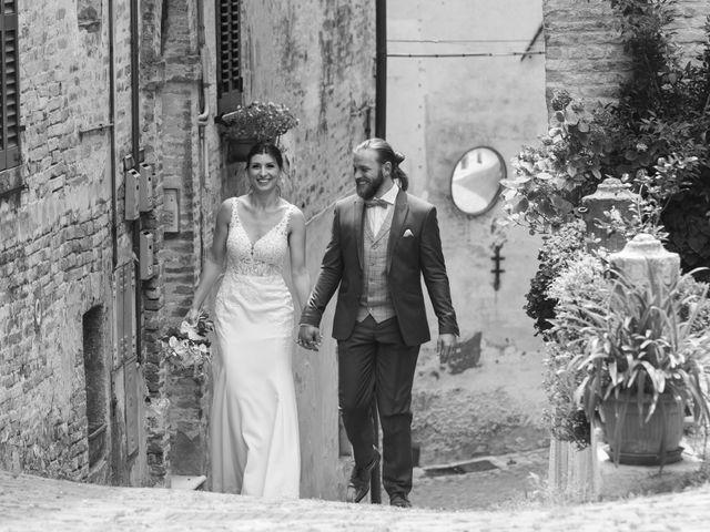 Il matrimonio di Robert e Giulia a Serra de' Conti, Ancona 59