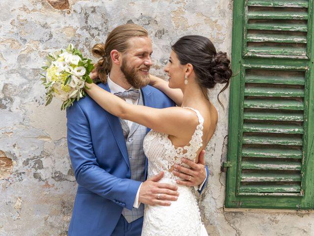 Il matrimonio di Robert e Giulia a Serra de' Conti, Ancona 64