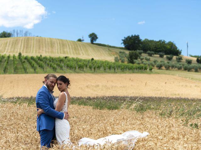Il matrimonio di Robert e Giulia a Serra de' Conti, Ancona 83