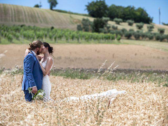 Il matrimonio di Robert e Giulia a Serra de' Conti, Ancona 87