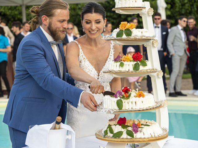 Il matrimonio di Robert e Giulia a Serra de' Conti, Ancona 88