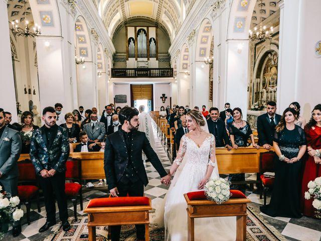 Il matrimonio di Rosario e Laura a Vallelunga Pratameno, Caltanissetta 28