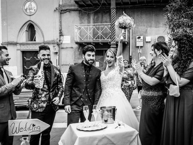 Il matrimonio di Rosario e Laura a Vallelunga Pratameno, Caltanissetta 31