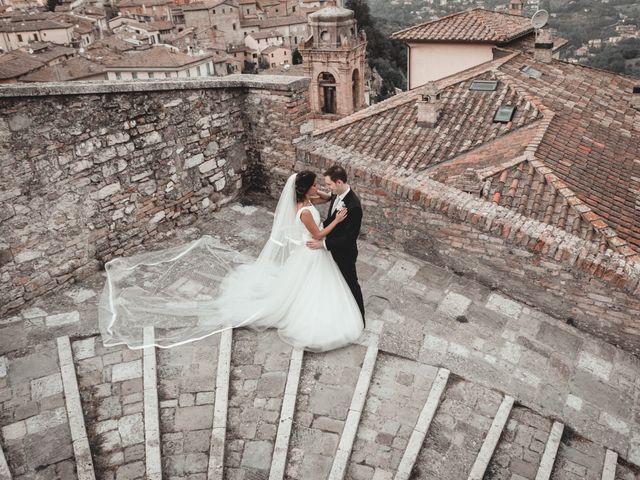 Il matrimonio di Alessandro e Giulia a Torgiano, Perugia 32