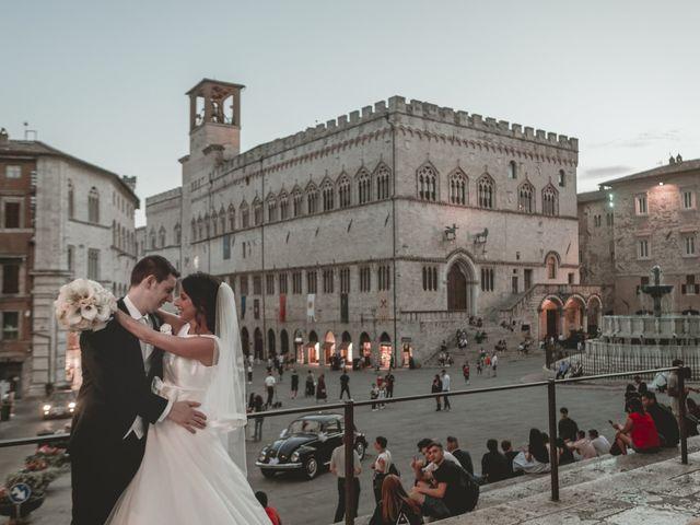 Il matrimonio di Alessandro e Giulia a Torgiano, Perugia 34