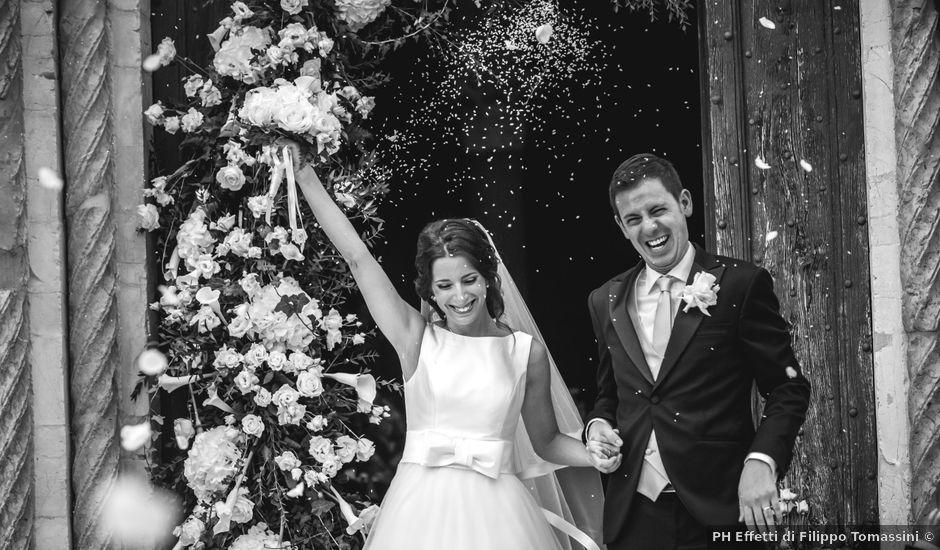 Il matrimonio di Alessandro e Giulia a Torgiano, Perugia