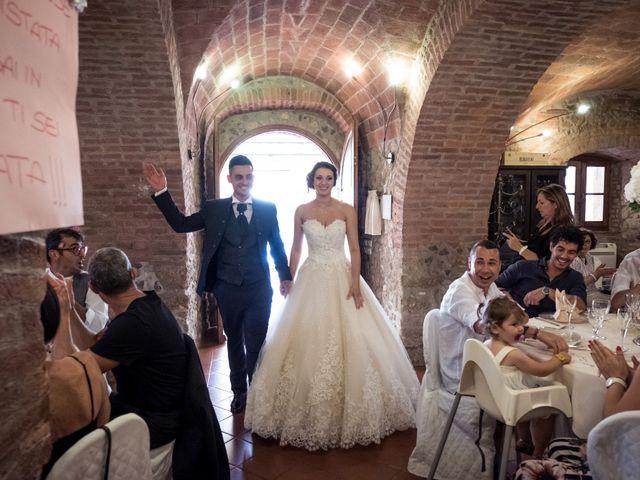 Il matrimonio di Massimiliano e Eleonora a Massa Marittima, Grosseto 94