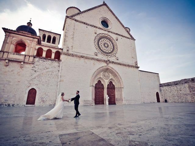 Il matrimonio di Flavio e Matilde a Assisi, Perugia 32