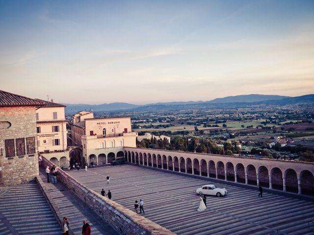 Il matrimonio di Flavio e Matilde a Assisi, Perugia 33