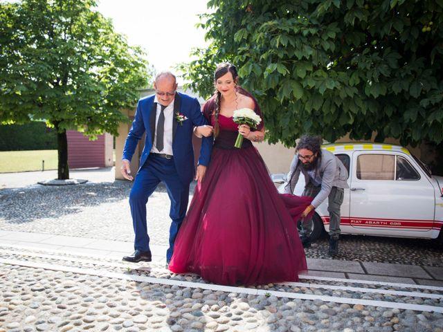 Il matrimonio di Daniele e Laura a Erbusco, Brescia 5